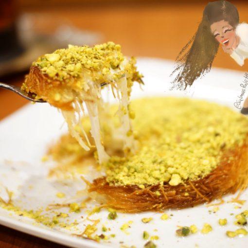 cafe 34 istanbul salmas palette kunefe turkish dessert