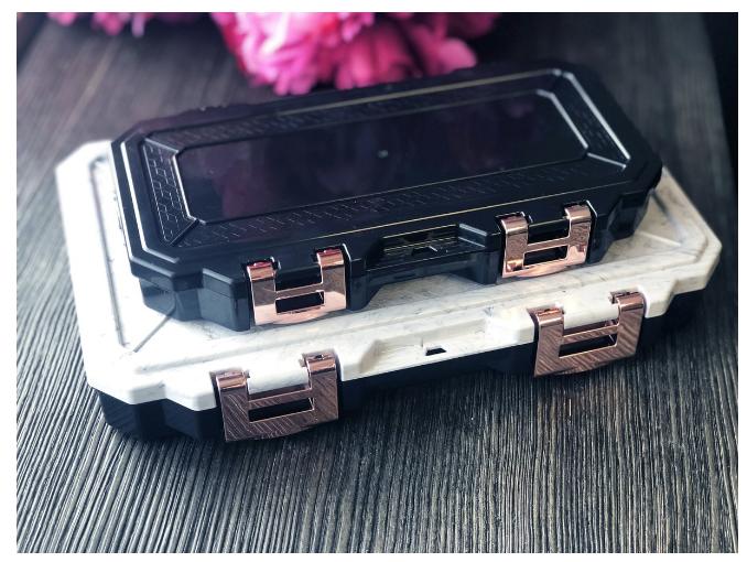 glamour lock traveling box